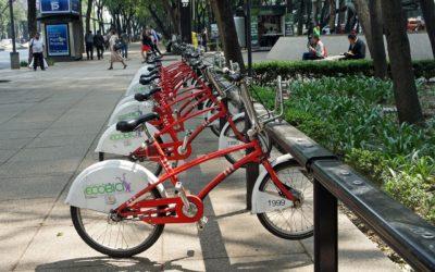La Condesa, movilidad sustentable